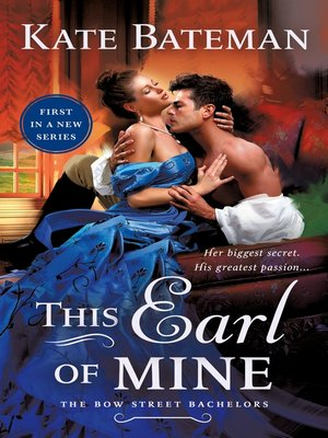cover image of This Earl of Mine--A Bow Street Bachelors Novel