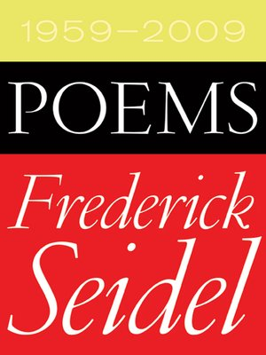 cover image of Poems 1959-2009