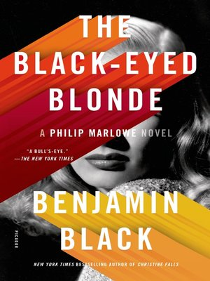 cover image of The Black-Eyed Blonde