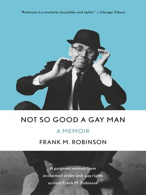cover image of Not So Good a Gay Man