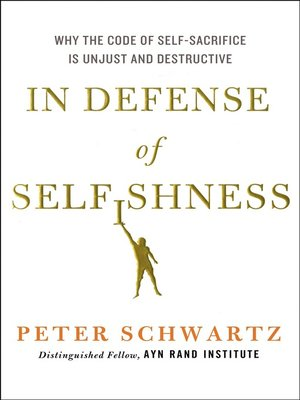 cover image of In Defense of Selfishness