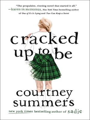 cover image of Cracked Up to Be