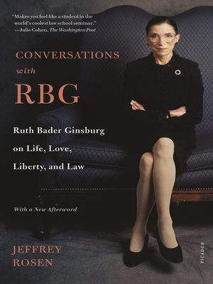 cover image of Conversations with RBG