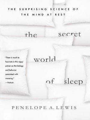cover image of The Secret World of Sleep