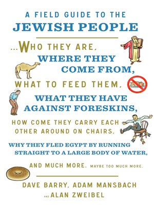 cover image of A Field Guide to the Jewish People
