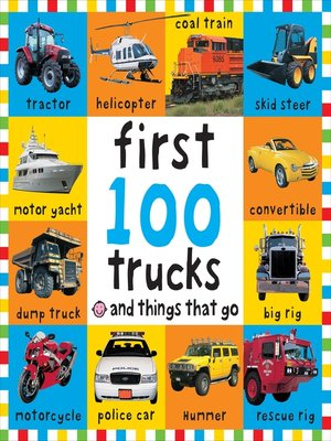 cover image of Big Board First 100 Trucks and Things That Go