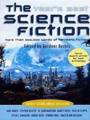 cover image of The Year's Best Science Fiction, Twenty-Second Annual Collection