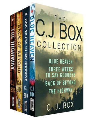 cover image of The C. J. Box Collection