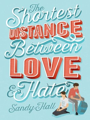 cover image of The Shortest Distance Between Love & Hate