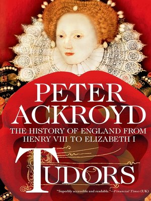 cover image of Tudors--The History of England from Henry VIII to Elizabeth I