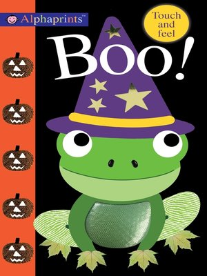 cover image of Alphaprints: Boo!