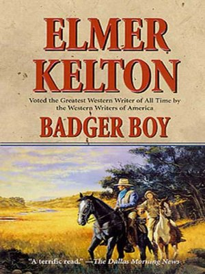 cover image of Badger Boy
