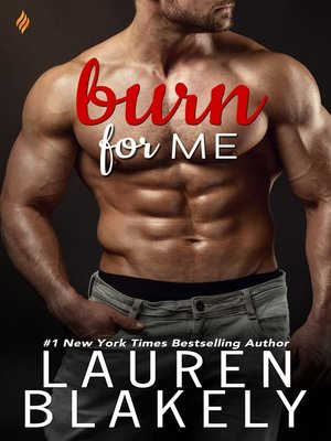 cover image of Burn for Me