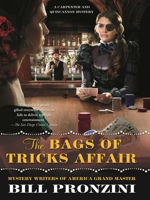 cover image of The Bags of Tricks Affair--A Carpenter and Quincannon Mystery