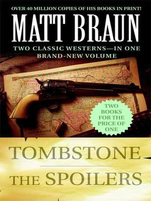 cover image of Tombstone / The Spoilers