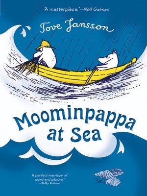cover image of Moominpappa at Sea