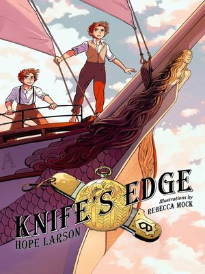 cover image of Knife's Edge: A Graphic Novel
