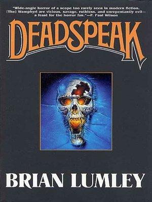 cover image of Deadspeak