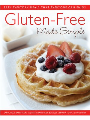 cover image of Gluten-Free Made Simple