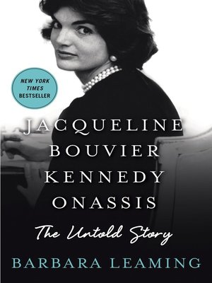 cover image of Jacqueline Bouvier Kennedy Onassis--The Untold Story