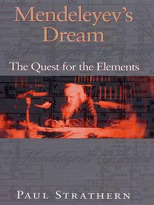 cover image of Mendeleyev's Dream