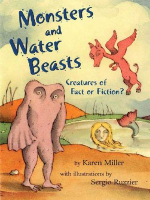 cover image of Monsters and Water Beasts