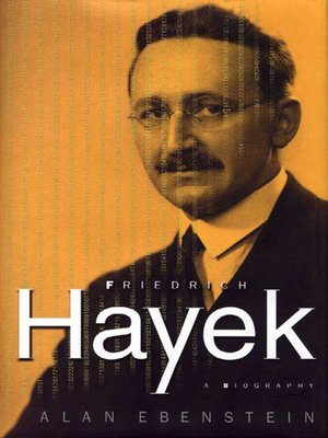 cover image of Friedrich Hayek--A Biography