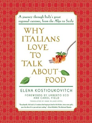 cover image of Why Italians Love to Talk About Food