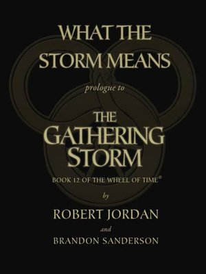 cover image of What the Storm Means: Prologue to The Gathering Storm