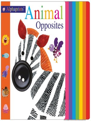 cover image of Alphaprints--Animal Opposites