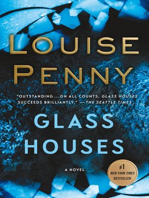 Cover image for Glass Houses--A Novel