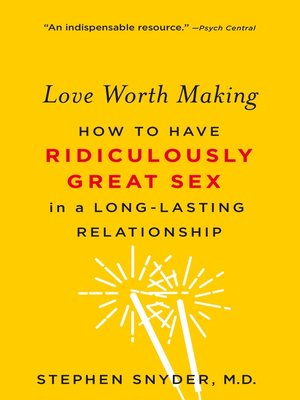 cover image of Love Worth Making