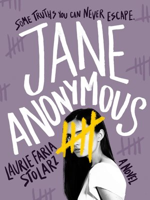 cover image of Jane Anonymous