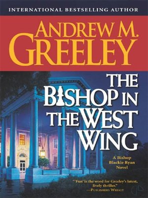 cover image of The Bishop in the West Wing