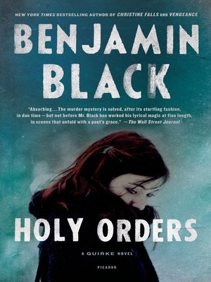 cover image of Holy Orders--A Quirke Novel