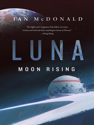 cover image of Luna: Moon Rising