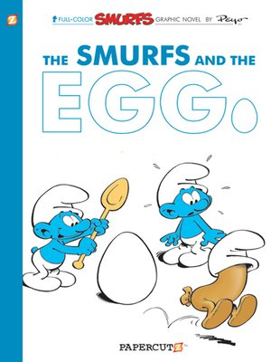 cover image of The Smurfs and the Egg