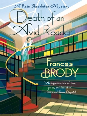 cover image of Death of an Avid Reader