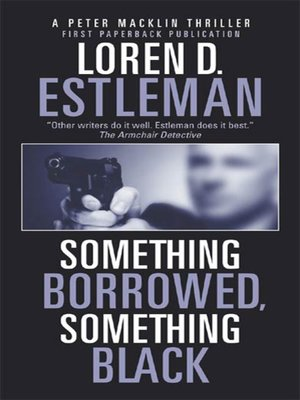 cover image of Something Borrowed, Something Black