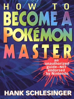 cover image of How to Become a Pokemon Master