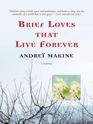 cover image of Brief Loves That Live Forever