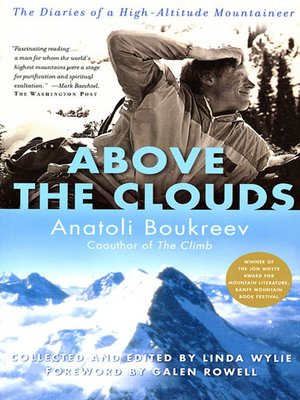 cover image of Above the Clouds