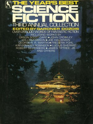 cover image of The Year's Best Science Fiction, Third Annual Collection