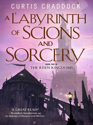 cover image of A Labyrinth of Scions and Sorcery