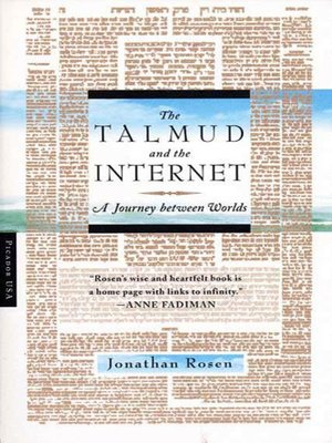 cover image of The Talmud and the Internet