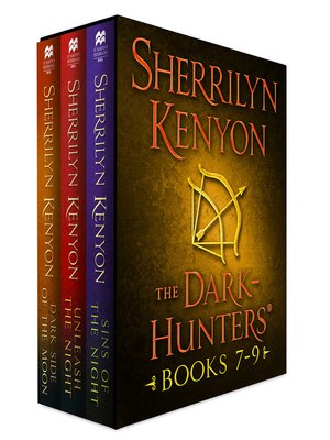 cover image of Dark-Hunter Series, Books 7-9