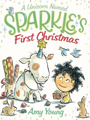cover image of A Unicorn Named Sparkle's First Christmas