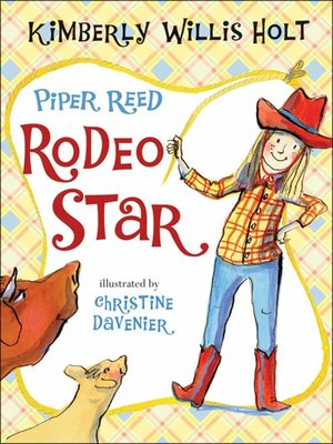 cover image of Piper Reed, Rodeo Star