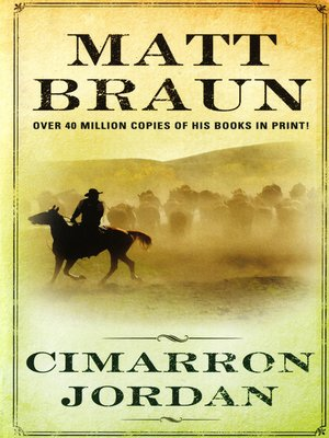 cover image of Cimarron Jordan