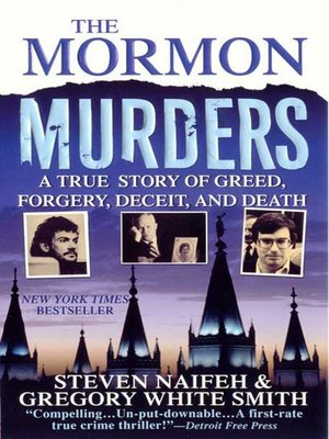 cover image of The Mormon Murders